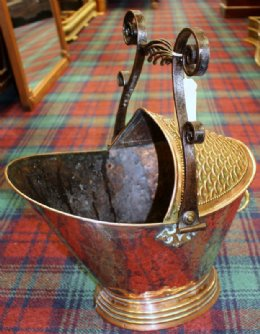 19th cent Coal Scuttle