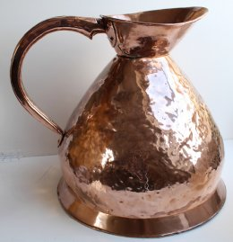 5 gallon 19th cent Copper Measure