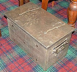 Arts & Crafts Coal Box