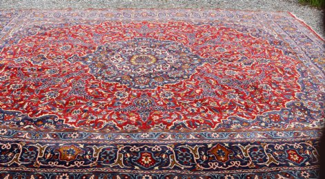 Large Middle Eastern Carpet (Iran) - SOLD