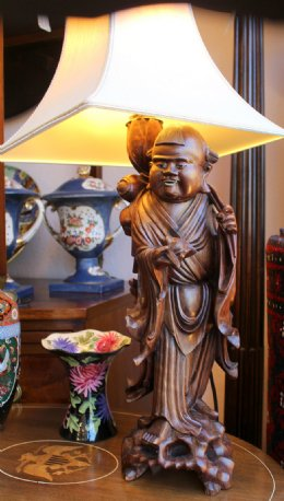 Oriental Rootwood Lamp
