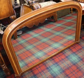 Overmantle Mirror - SOLD