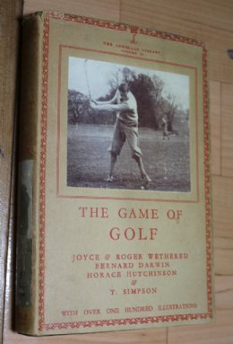 The Game Of Golf - SOLD