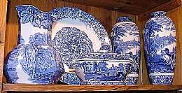 Asstd Blue & White Ware