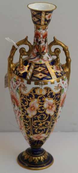 Crown Derby Vase - C1890