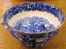 Footed Wedgewood Bowl