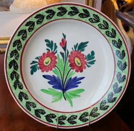 "Large ""Auld Heather Ware"" Plate - SOLD"