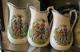 Scottish Pottery Jugs