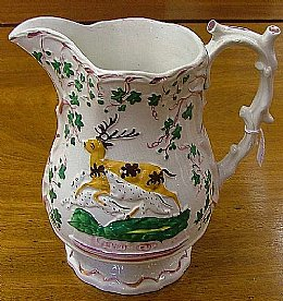"Staffordshire Jug ""Epson Cup"" - SOLD"
