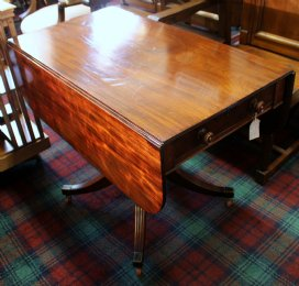 19th cent Mahogany Pembroke Table - SOLD