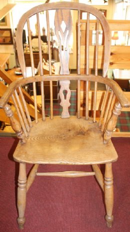 19th cent Windsor Chair