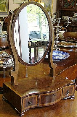 3 Drawer Edwardian Swing Mirror