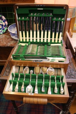 Art Deco Canteen of Cutlery