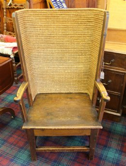 Early 20th cent Orkney Chair