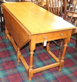 Large Oak Gateleg Table
