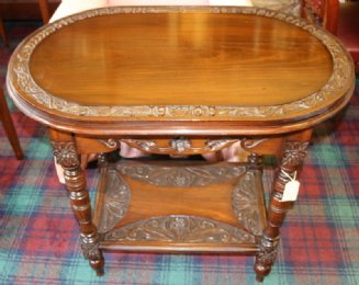 Mahogany Marriage Table