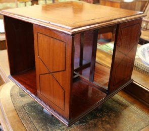 Mahogany Table Top Bookcase