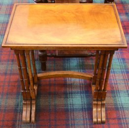 Nest of Mahogany Tables - SOLD