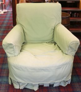 Overstuffed Armchair - SOLD