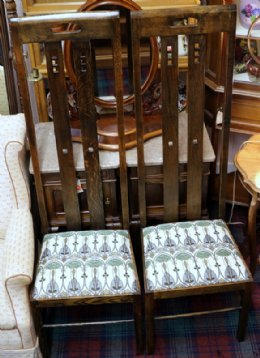 Pair of McKintosh Style Chairs