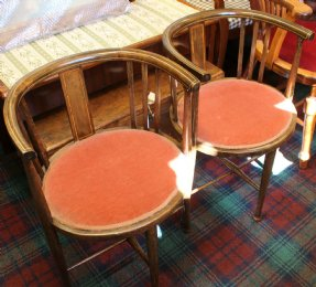 Pair opf Tub Chairs
