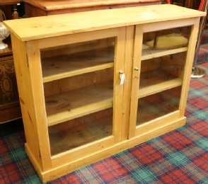 Pine Bookcase / Cupboard