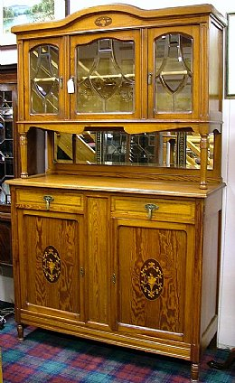 Pitch Pine Cabinet