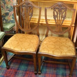 Pr 19th cent Dining Chairs