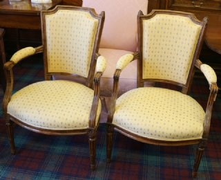 Pr of 19th cent French Chairs
