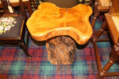 Rustic Wood Stool / Table