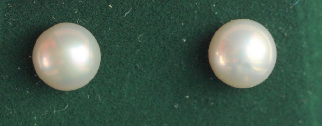 14ct gold Pearl Earrings - SOLD