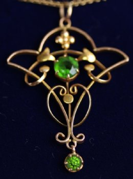 15ct Early 20th cent Pendant