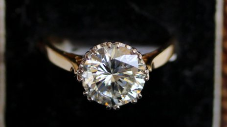 18ct Diamond Solitaire - SOLD