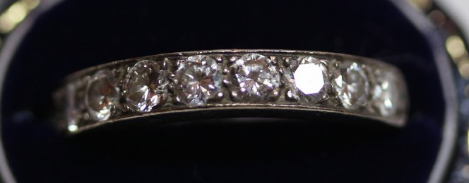 18ct Gold, Diamond Eternity Ring