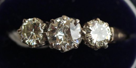 3 stone Diamond Ring - SOLD