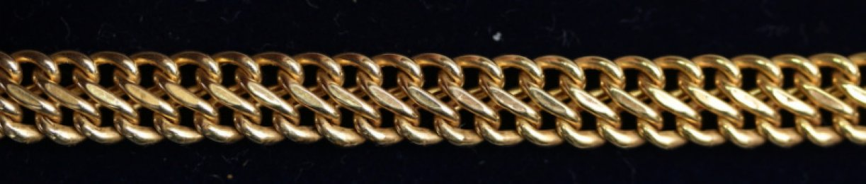 9ct Gold Bracelet - SOLD
