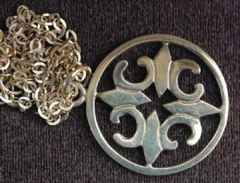 9t gold Ortak (Orkney) Pendant - SOLD