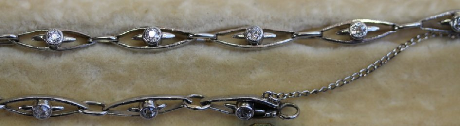Diamond Set Bracelet - SOLD