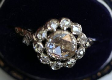 Early 19th cent Diamond Ring
