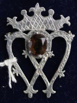 Edinburgh Silver Luckenbooth Brooch