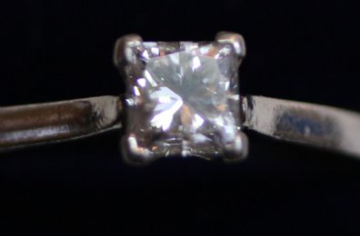 Platinum & Diamond Solitaire