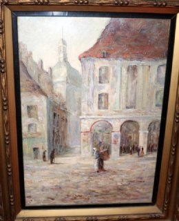 Doris M Browne, - The Arcades, Dielppe - SOLD