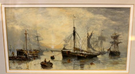 J Jack watercolour Dated 1877 - SOLD