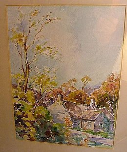 J K Maxton - Watercolour