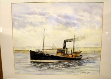 Watercolour, Geo Campbell, Portnockie