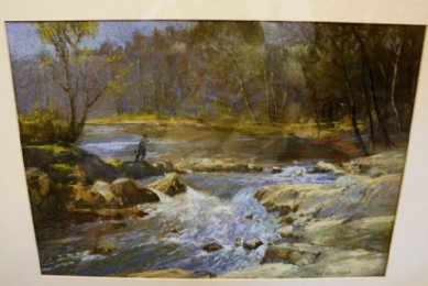 Watercolour - W Eric Thorpe (exh 1923) - SOLD
