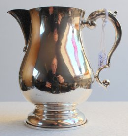 Edinburgh Silver Cream Jug