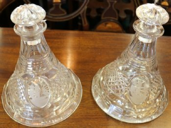 Ships Decanters - SOLD