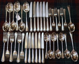 Silver Cutlery - SOLD