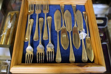 Silver Fish Knives & Forks